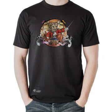 Camiseta Blas de Lezo Negro