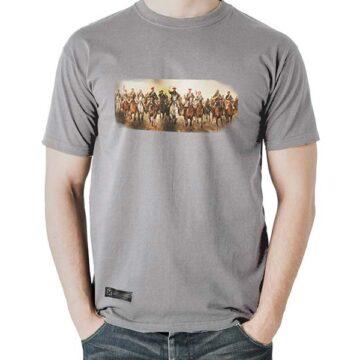 Camiseta Carga Zumalacarregui Gris