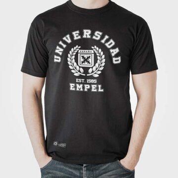 Camiseta EMPEL negra Estirpe Imperial