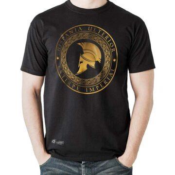 Camiseta hispania ulterior negra