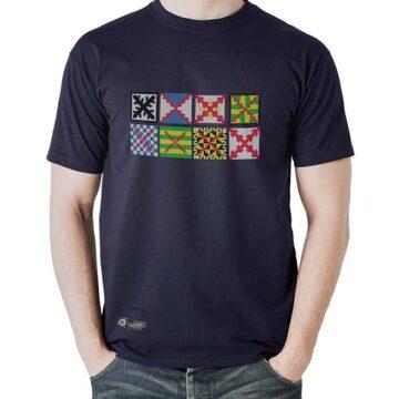 camiseta estirpe imperial bandera tercios azul